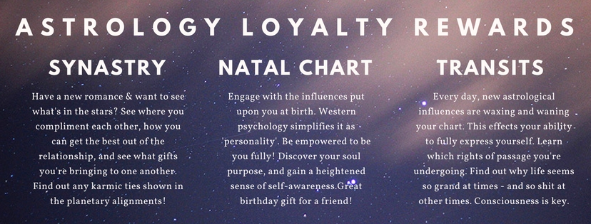 Astrology Loyalty Rewards